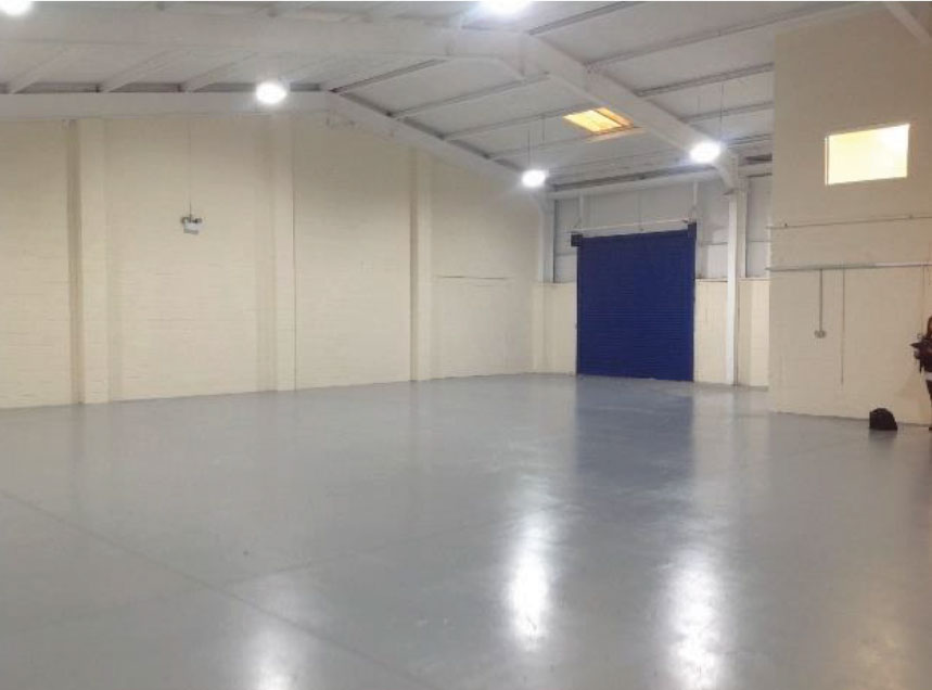 small industrial unit renovation Liverpool