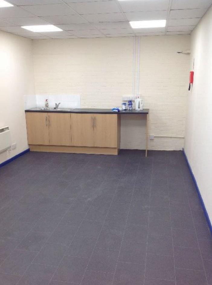 Staff canteen refurbishment