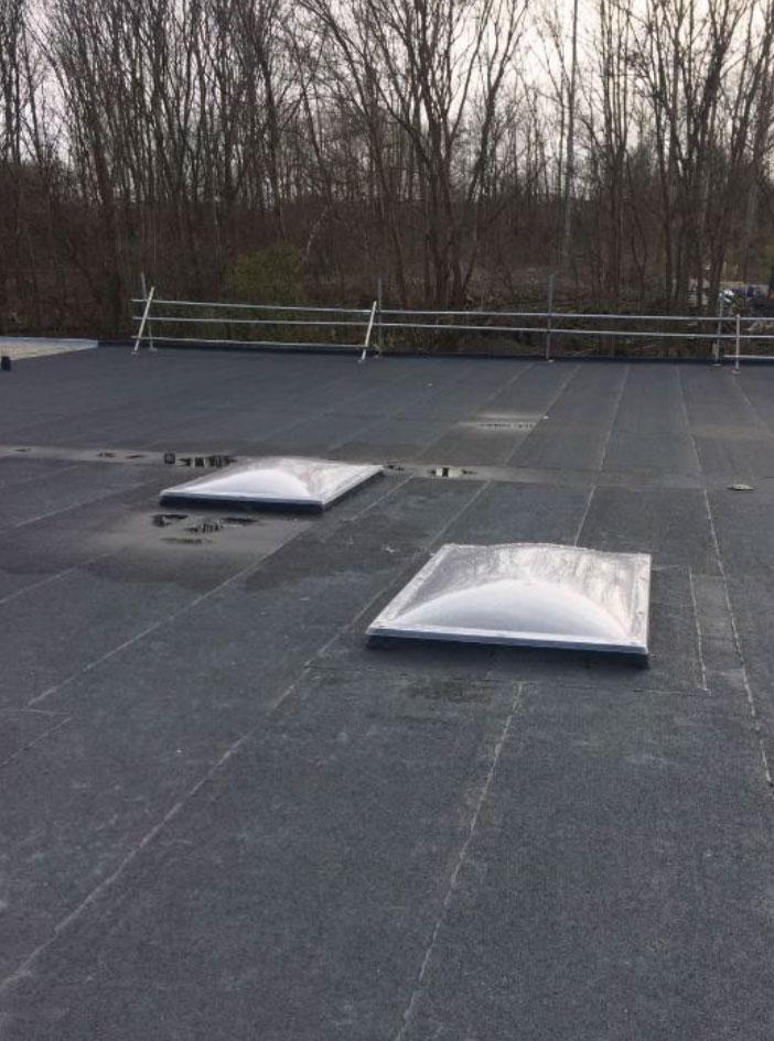 commercial flat roof refurbishment