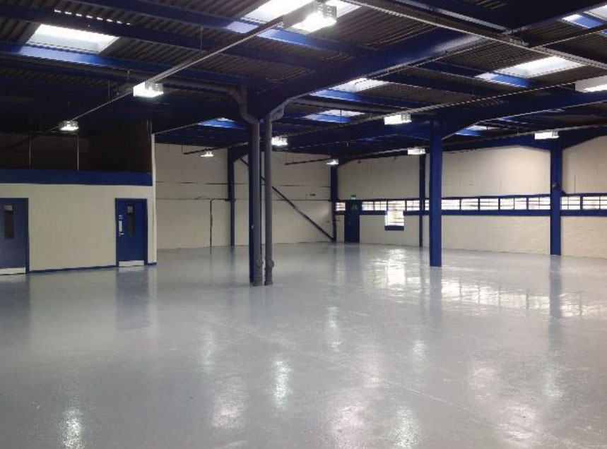 Industrial and commercial maintenance and redecorate