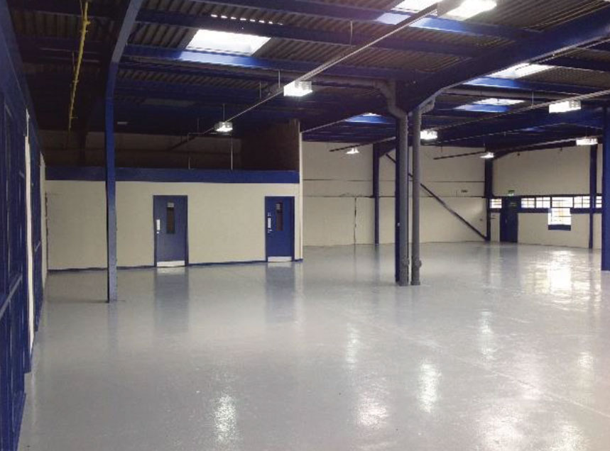 Distribution centre refit North West
