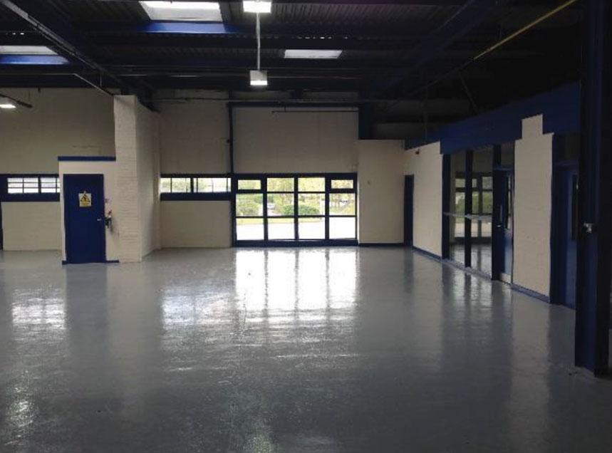 retail unit refurbishment
