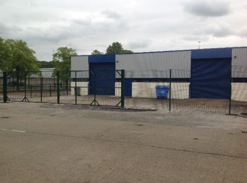Industrial property remodelling North West