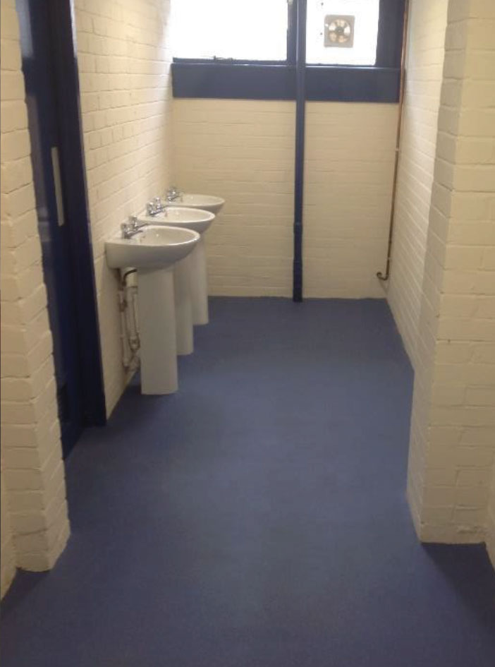 Wash room refit North West UK