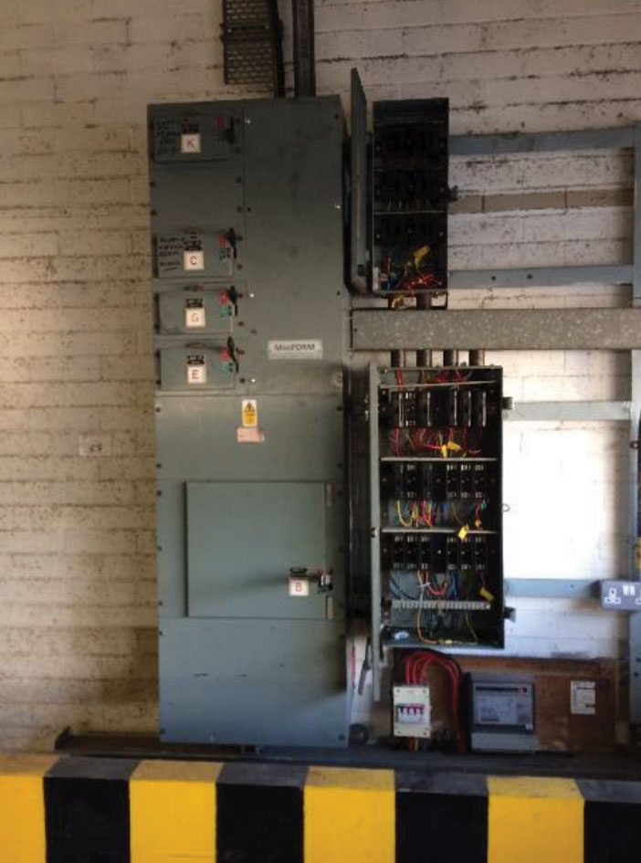 3 phase electrical refurbishment