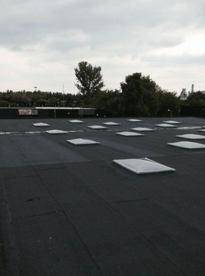 Warehouse roof refurbishment