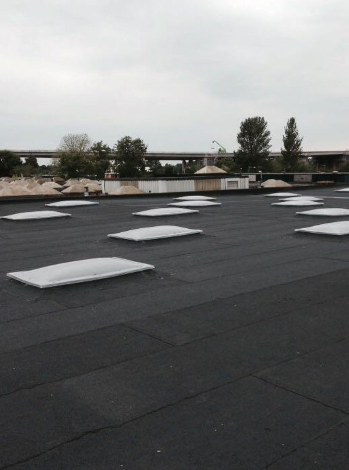 Commercial roof refurbishment