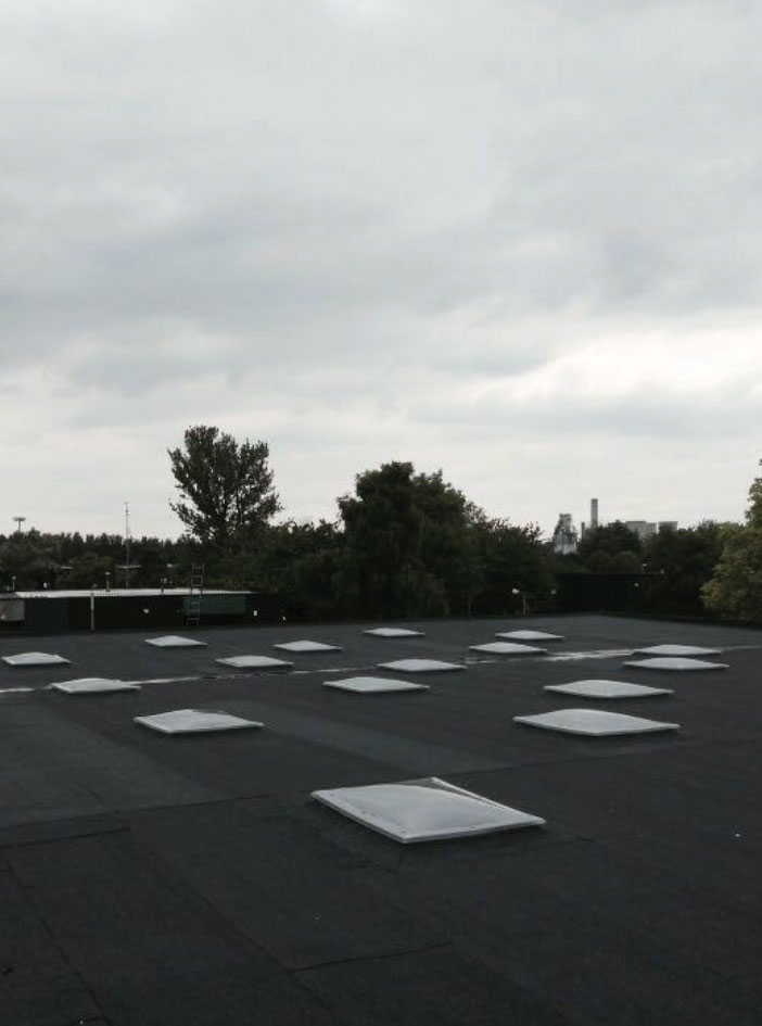 Industrial roof refurbishment