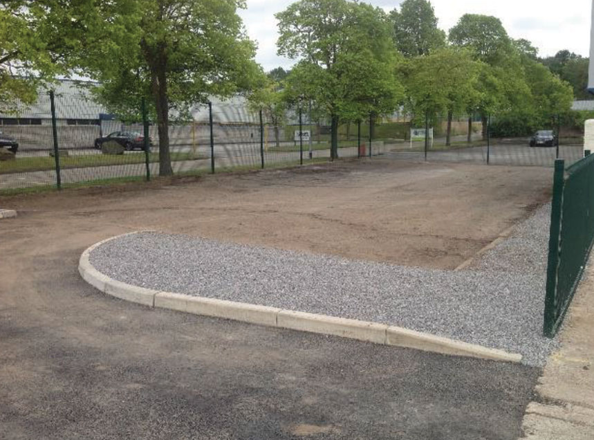 car park refit North West