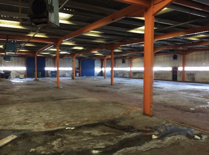 Warehouse floor refurbishment North West