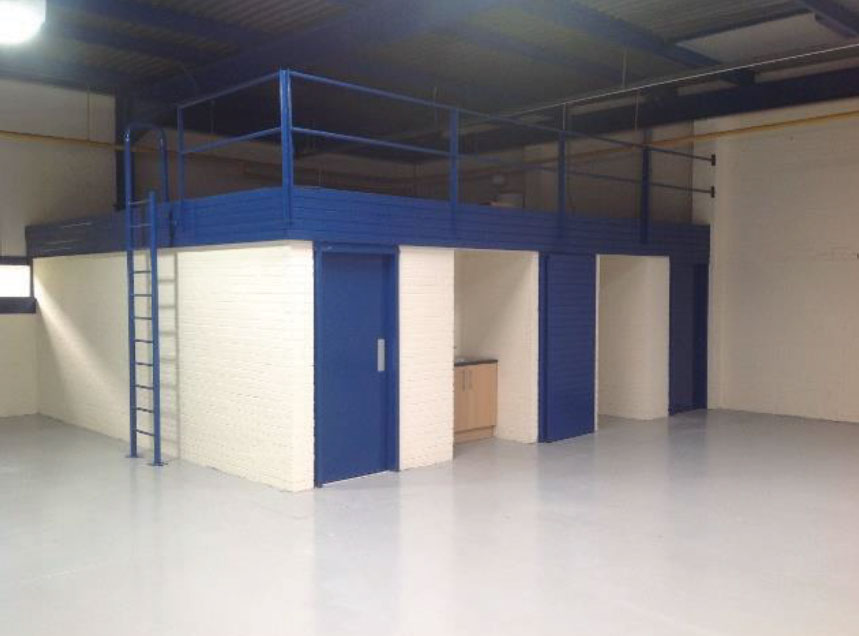 Mezzanine floor refurbishment