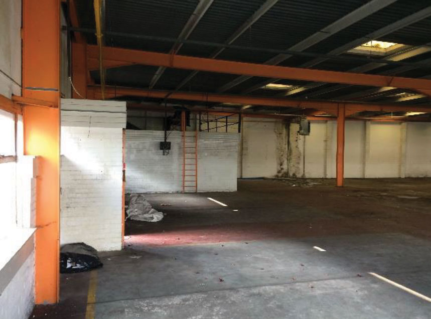 Warehouse makeover North West
