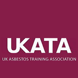 UK asbestos training logo